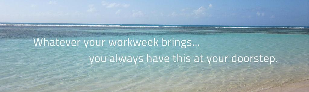 Work Week beach