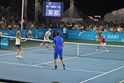 Legends Tennis Championships at Camana Bay (February)